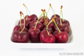 Vinagreta de cerezas